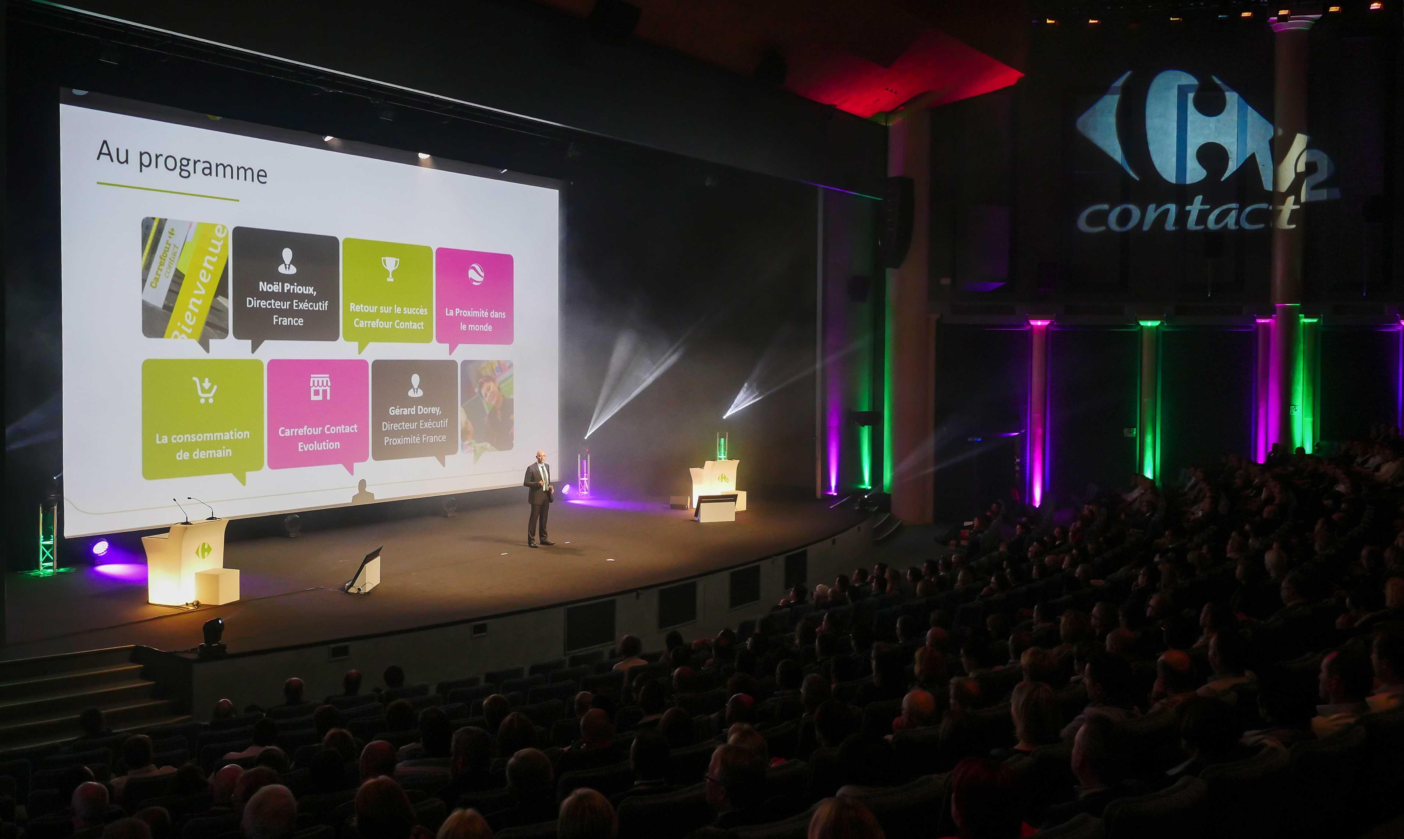 Vidéo projection - Séminaire d'entreprise